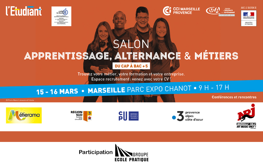 Salon de l'apprentissage et de l'alternance 2019 à Marseille