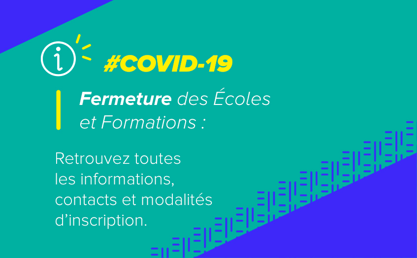 Informations Formations et Contacts Covid 19