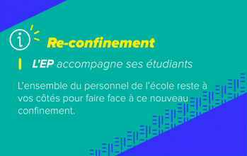 Informations reconfinement Ecole Pratique Marseille